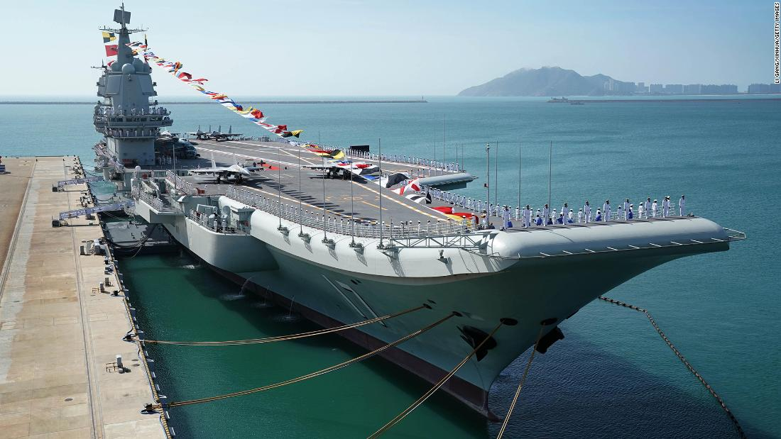 China has built the world's largest navy. Now what's Beijing going to do with it?