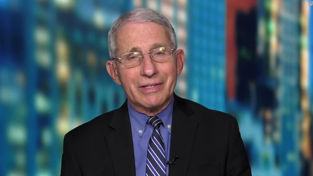 See Fauci's reaction to states lifting mask mandates