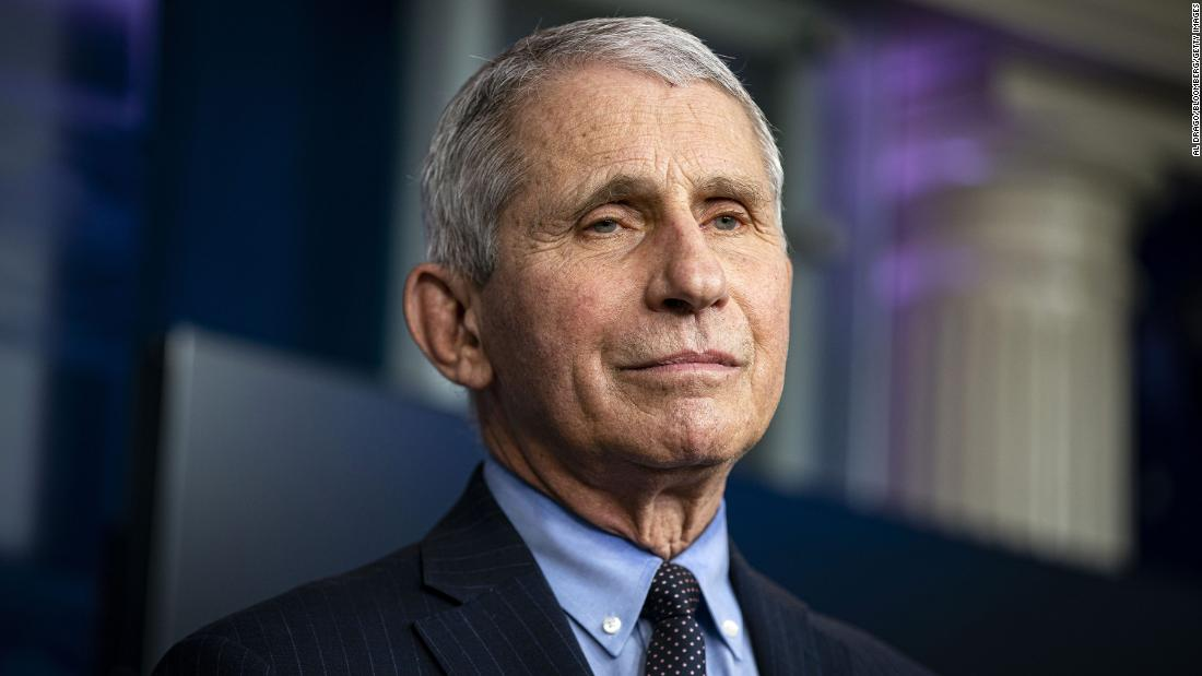 Fauci calls loosening Covid-19 restrictions inexplicable