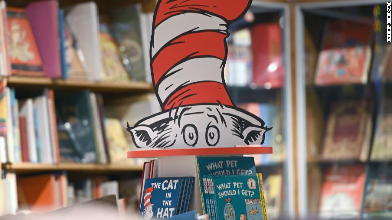Dr. Seuss books are taking over Amazon's bestseller list