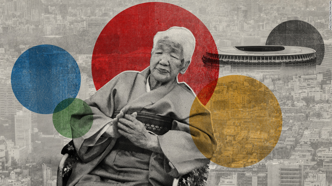 Age 118, the world's oldest living person will carry the Olympic flame in Japan