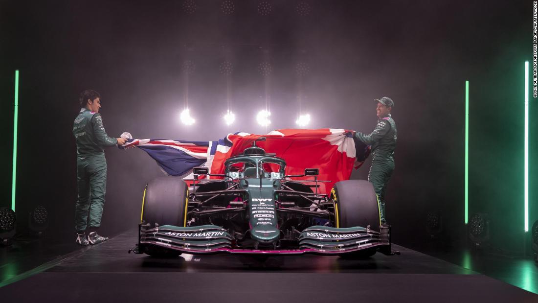 James Bond and Tom Brady welcome Aston Martin back to F1