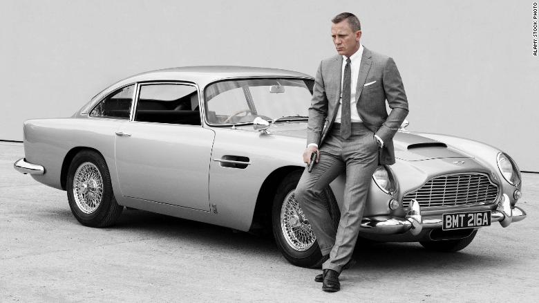 James Bond, yang diperankan oleh aktor Craig, telah berlomba dengan Aston Martin selama beberapa dekade.