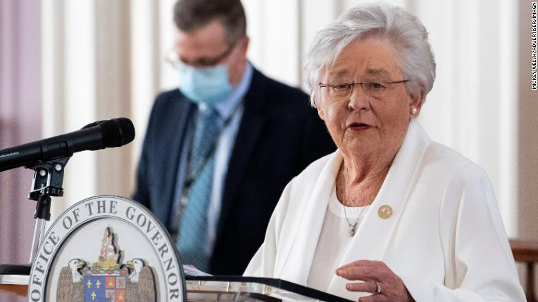 Alabama governor says she won't extend mask mandate past April 9