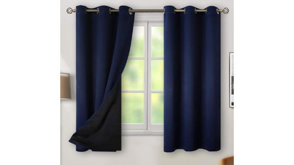 BGment Thermal Insulated 100% Blackout Curtains