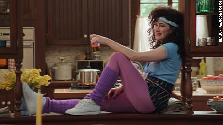 "Kathryn Hahn's Agatha Harkness got a villanious bop, ""Agatha All Along,"" that proved popular on TikTok."