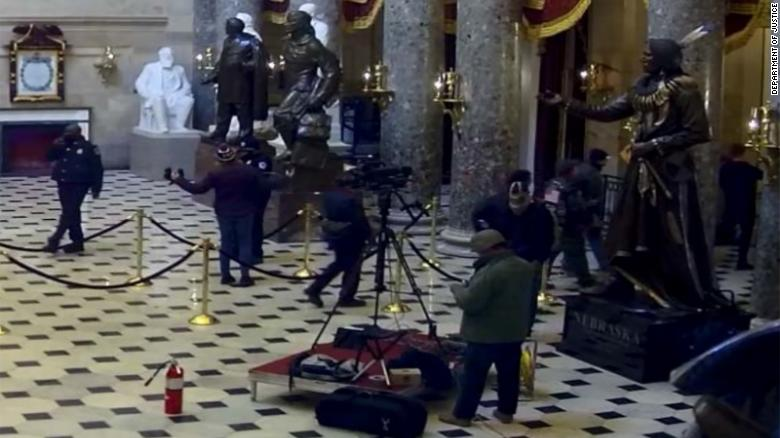 West Virginia man charged with stealing C-SPAN employee equipment during Capitol riot