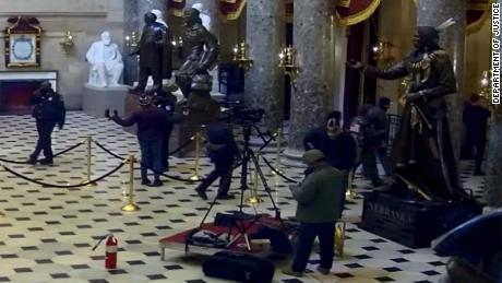 A West Virginia man charged with stealing a C-SPAN employee's device during Capitol riots.