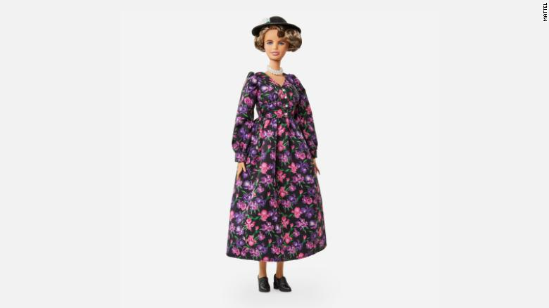 Eleanor Roosevelt is the latest historical figure to get the Barbie treatment