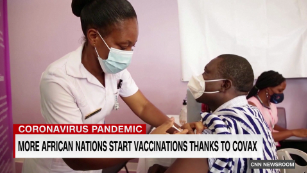 COVAX roll out in Africa offers hope of vaccine equality