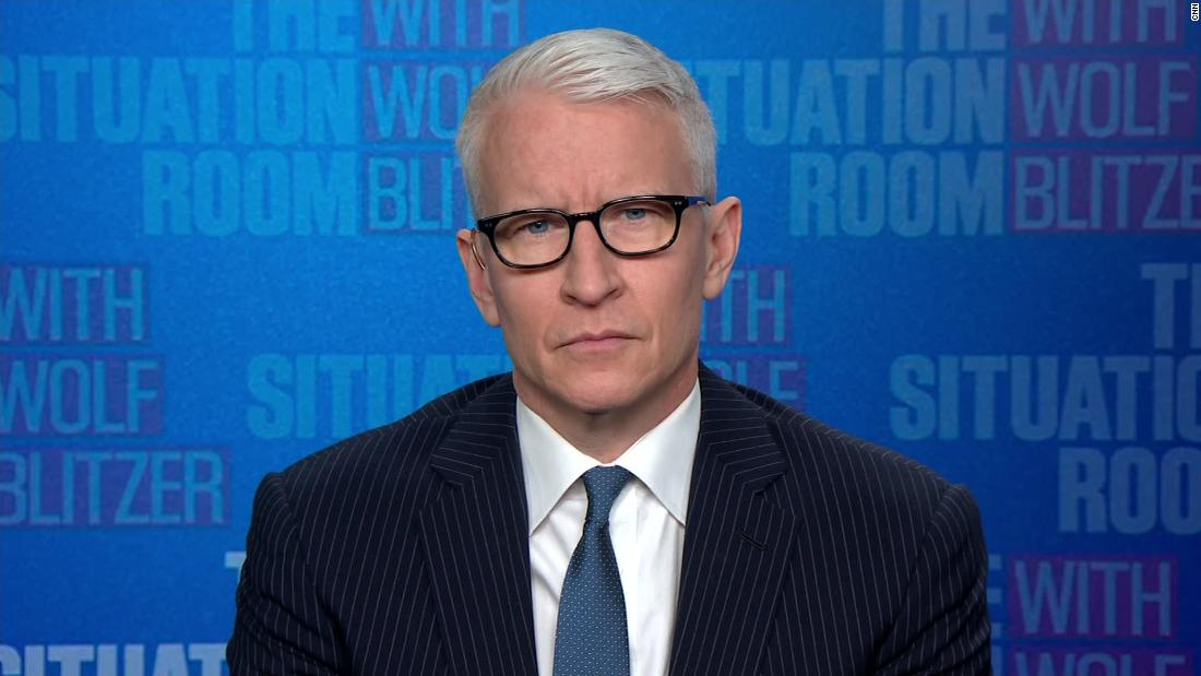 Cooper reacts to being targeted by QAnon conspiracy theorists
