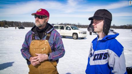 Valdo and Ben Calvert say there are some people they can't be with any more, even with the bonhomie on the lake.