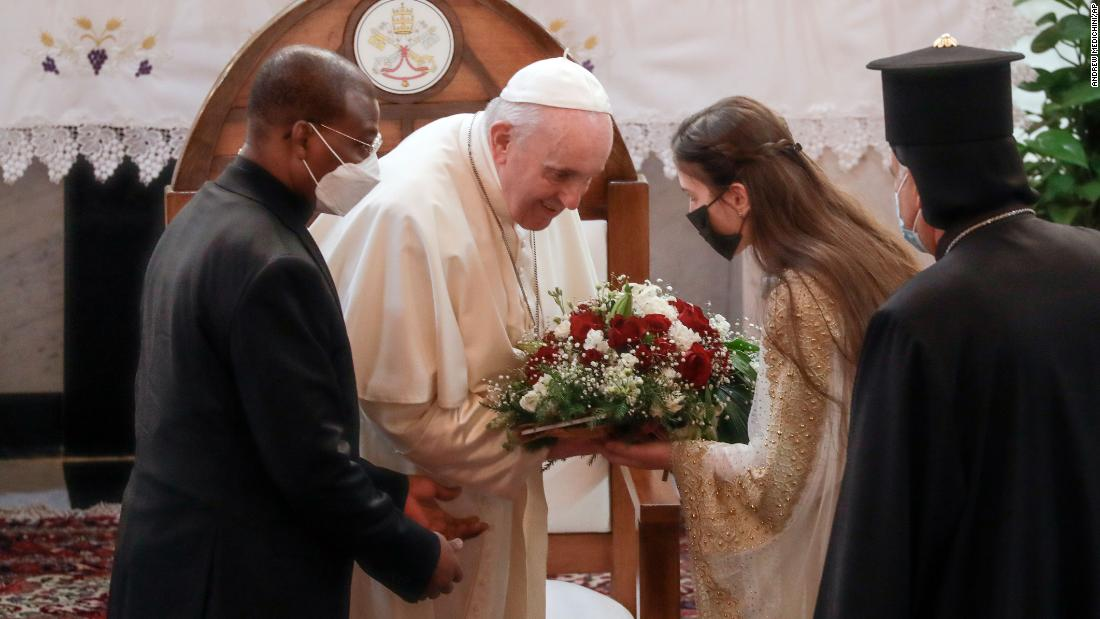 Pope Francis in Iraq for a historic tour of the war-torn country