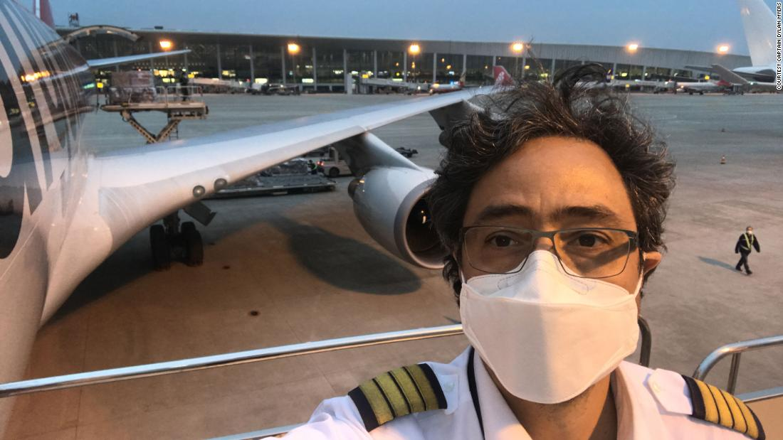 Pilots describe what it's like to fly in a pandemic