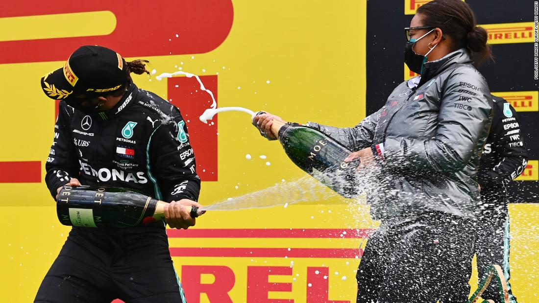'I still can't put it into words': Stephanie Travers on the 'surreal' moment she became the first Black woman on an F1 podium