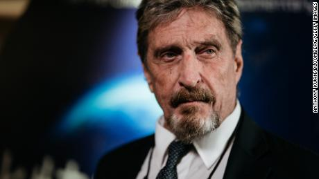 John McAfee facing charges for alleged cryptocurrency 'pump and dump' scheme on Twitter