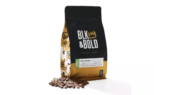 Blk & Bold Limu Ethiopia Natural Processed, Light Roast Whole Bean