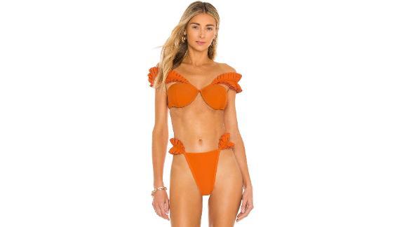 Andrea Iyamah Mulan Bikini Top