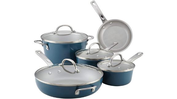 Ayesha Curry Home Nonstick 9-Piece Cookware Set