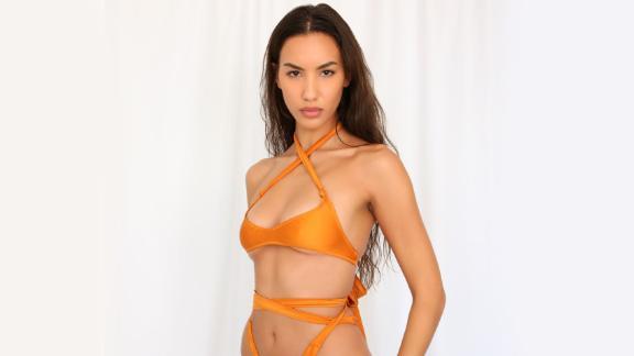 Melissa Simone Swim Devlin Wrap Bikini Top