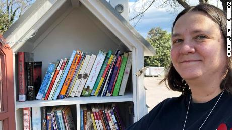 Jennifer WIlliams is on a mission to give away 1 million books to people in her small town of Danville, Virginia.