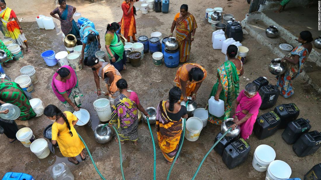 Safe water -- it's what women want