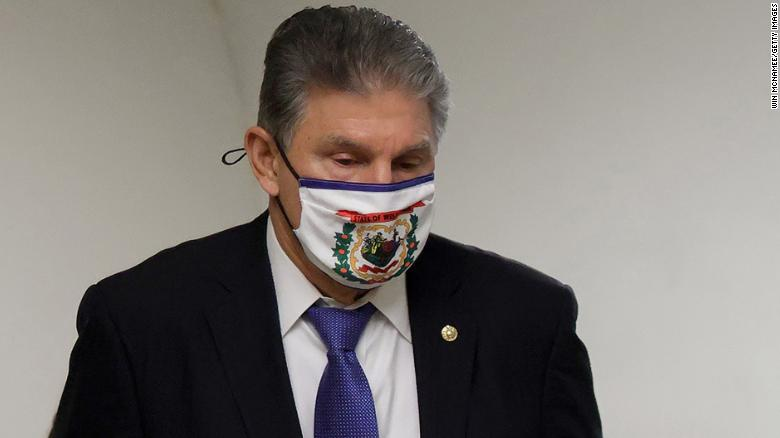 Joe Manchin can't seem to say how much he wants the reconciliation bill to cost