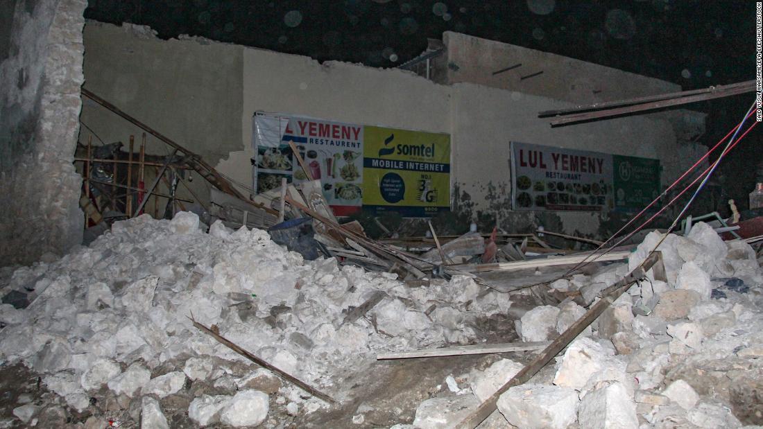 Car bomb in Somali capital kills at least 20 people