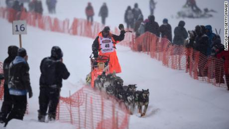 Veteran musher Thomas Waerner won last year's race.