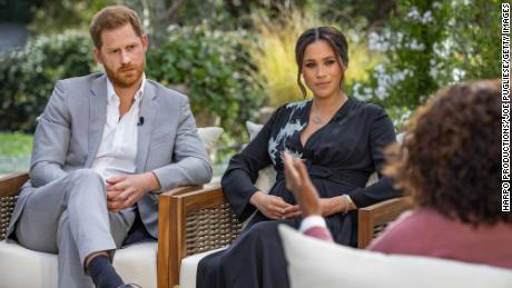 Buckingham Palace says royal family is 'saddened' in first statement since Harry and Meghan interview
