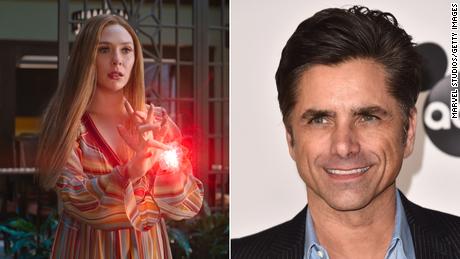 John Stamos publie un précieux hommage à Elizabeth Olsen pour la finale de 'WandaVision'