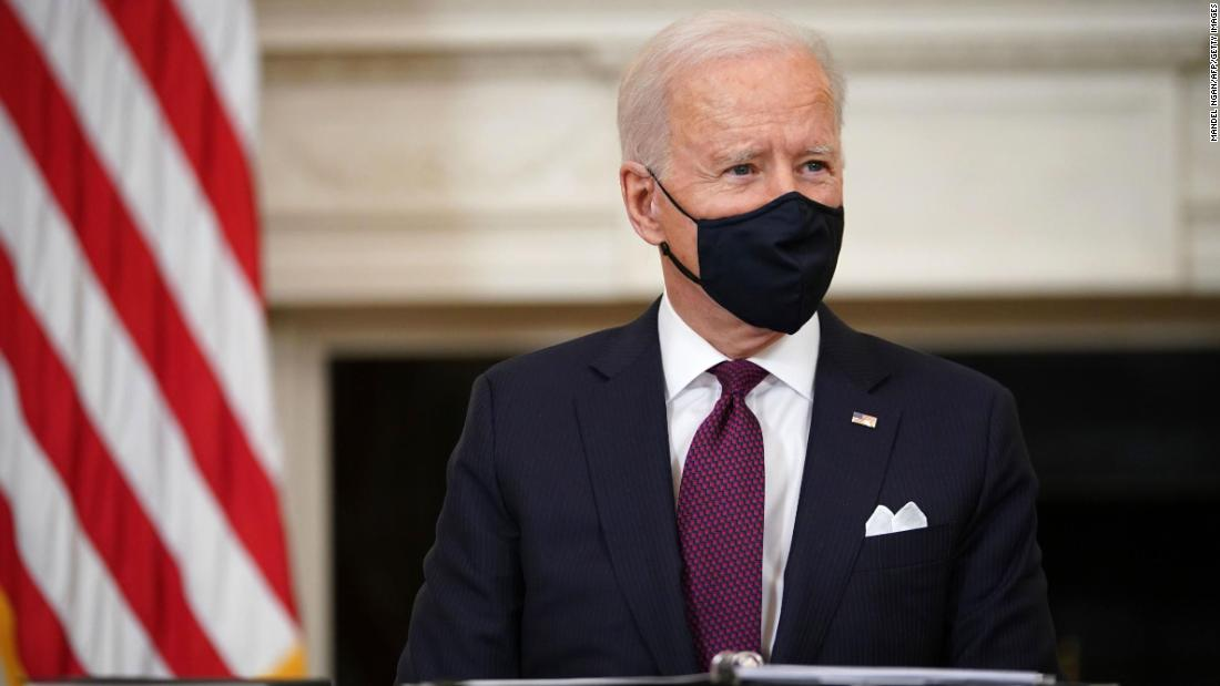 Analysis: With Covid relief and stimulus checks in sight, Biden asks for faith in US democracy
