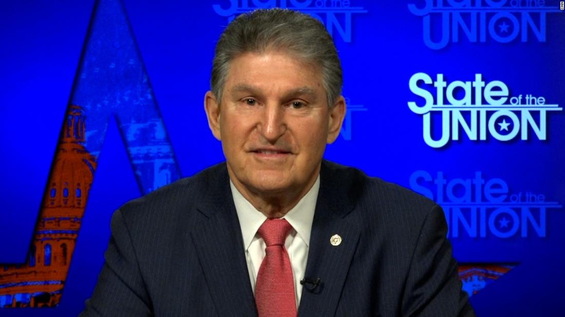 Manchin defends effort to stall Democrats' stimulus plan