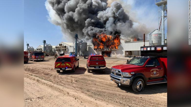Over 166,000 hens die in Arizona farm fire