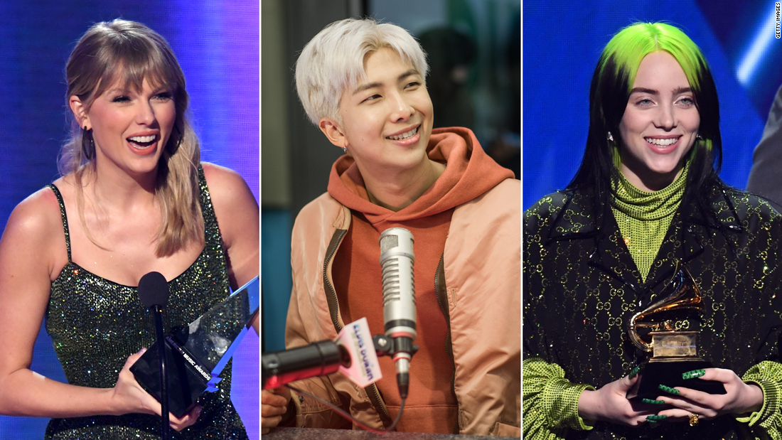 Grammys 2021 performers will include Taylor Swift, BTS and Billie Eilish - CNN