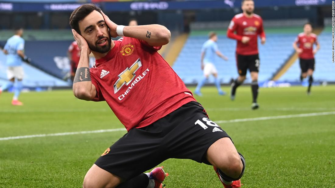 Manchester United brings Manchester City's 21-match winning streak to an end