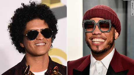 Musicians Bruno Mars and Anderson .Paak have formed a band called Silk Sonic