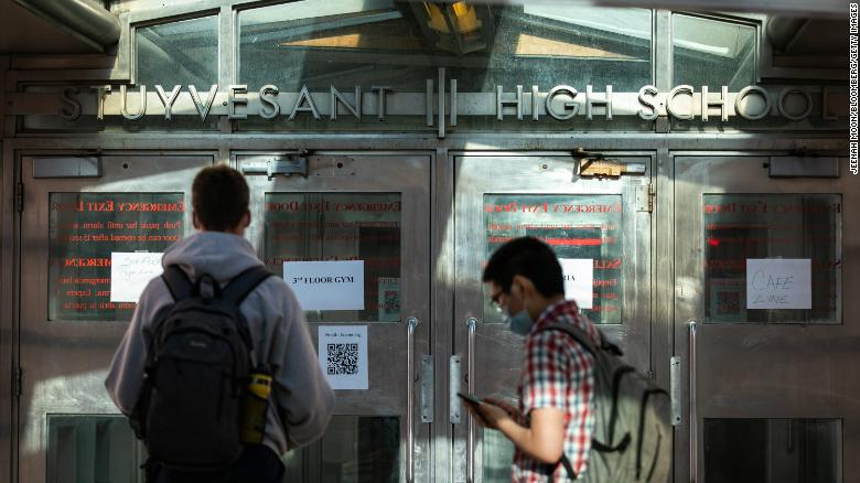 New York City high schools to reopen for in-person learning on March 22