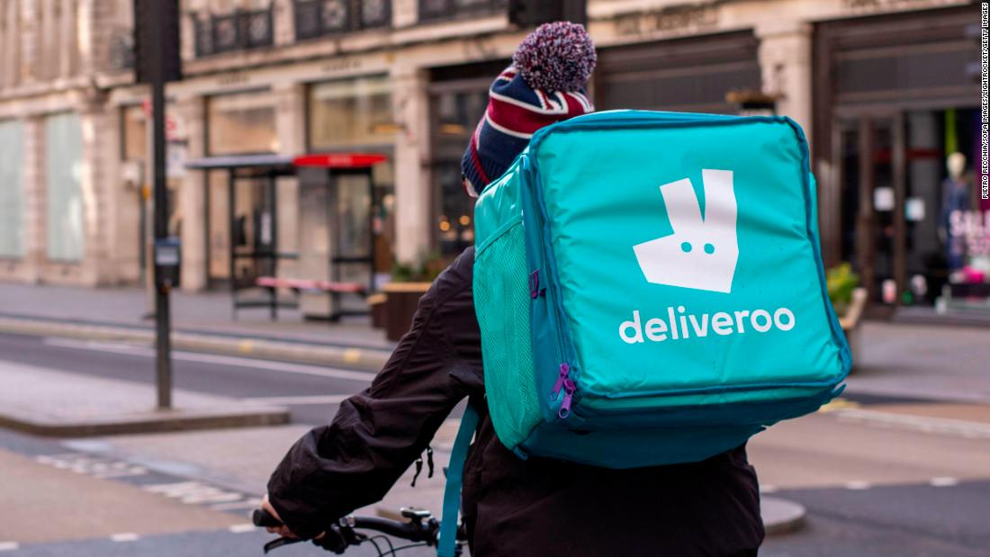 Deliveroo promises some riders $14,000 when it IPOs. Most will get far less - CNN