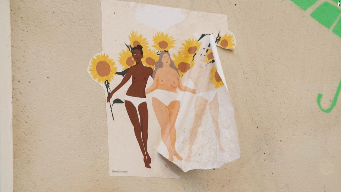 How French women are reclaiming the streets of Paris with protest art