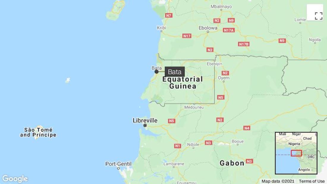 Equatorial Guinea blasts kill more than 12, injure hundreds