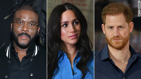 Tyler Perry, Meghan Markle and Prince Harry