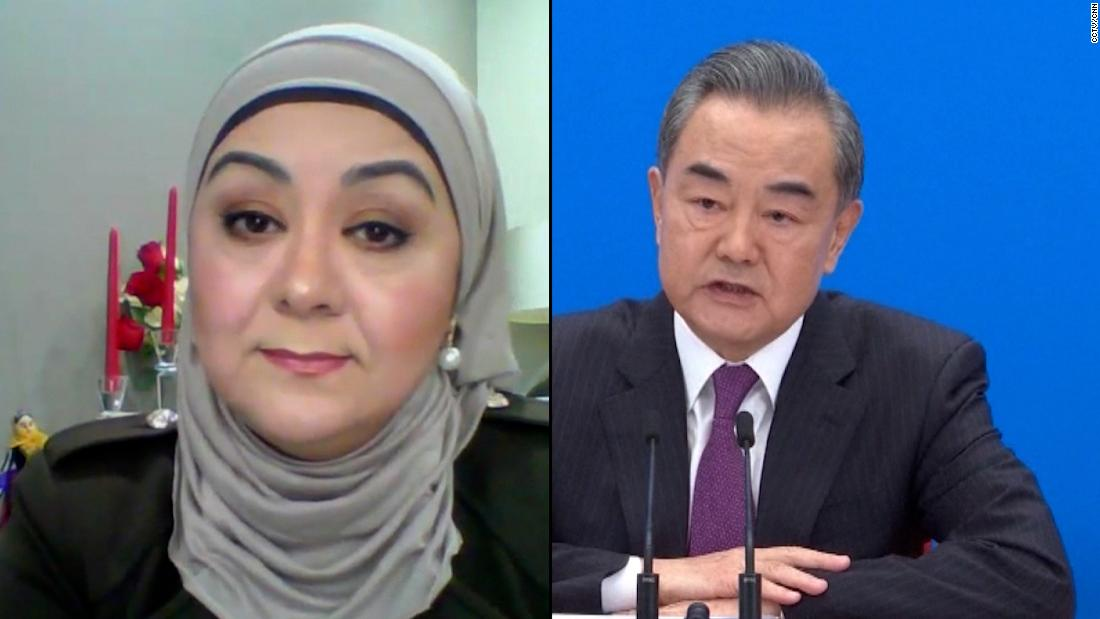 Uyghur journalist reacts after Beijing dismisses claims of genocide
