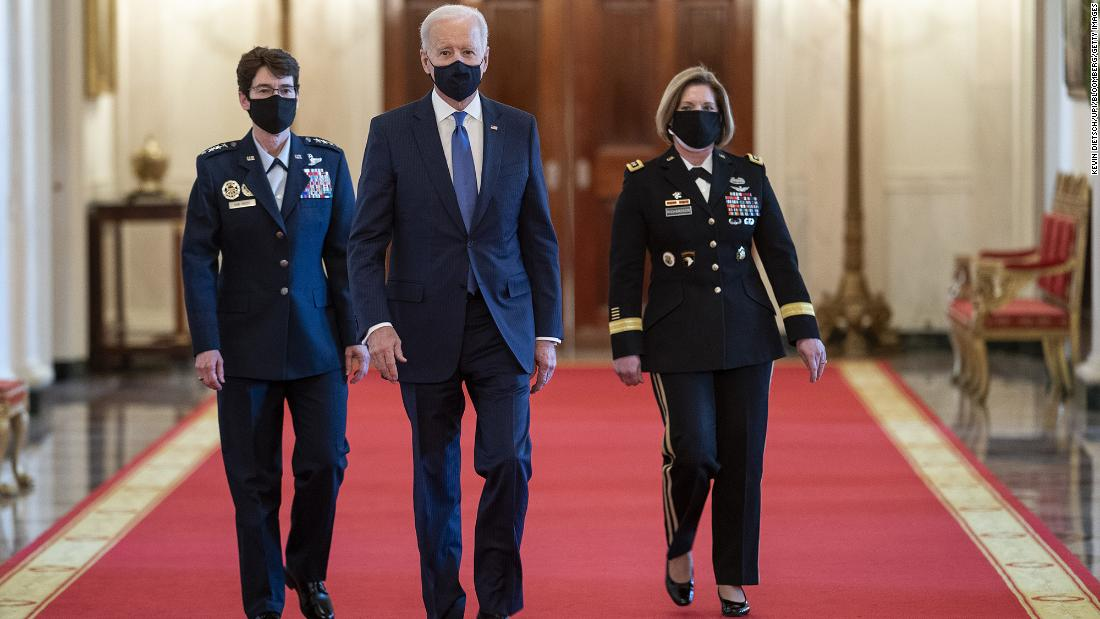Biden nominates two female generals to 4-star commands after promotions delayed under Trump administration