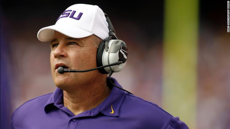 University of Kansas parts way with head coach Les Miles following reports on harassment allegations during his LSU tenure