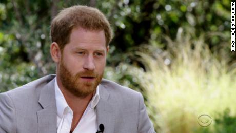 Prince Harry says the Queen was not allowed to meet him last year