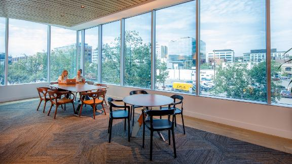 View Intelligence Smart Windows at Civica Cherry Creek offices in Denver, CO.