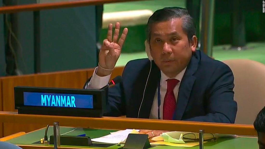 Myanmar's UN ambassador Kyaw Moe Tun on his speech of defiance - CNN