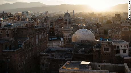 The old city of the capital, Sana'a. Houthi rebels control Sana'a after forcing the internationally recognized government out.
