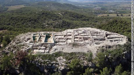 The Almoloya archaeological site is in southeastern Spain.